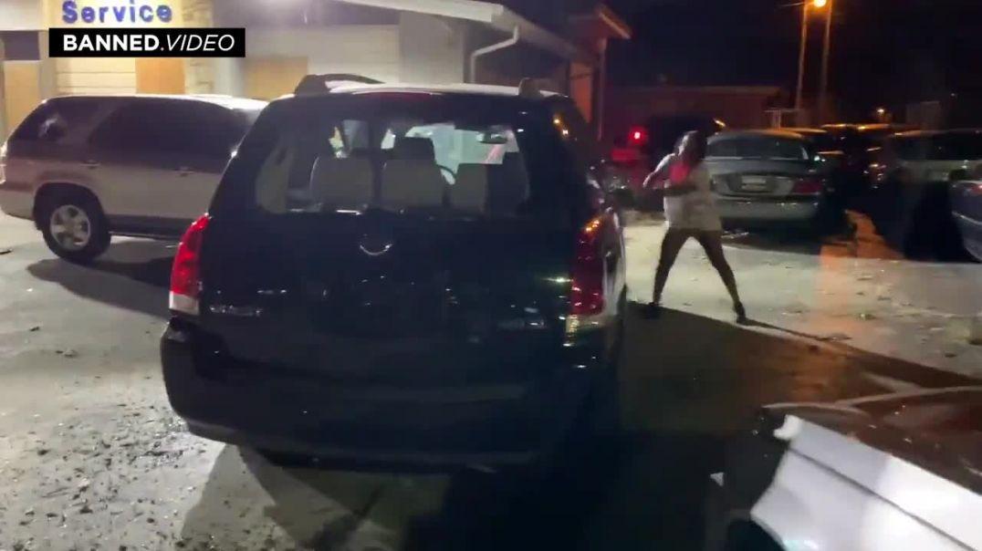 Kenosha Riot Shootout: Warning Graphic Gunshot Footage