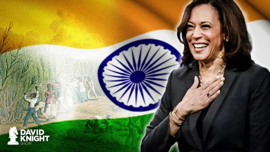 "Kamala's Identity Crisis: Hindu Caste Privilege, Jamaican Slavery & ""Queen of Police State"""