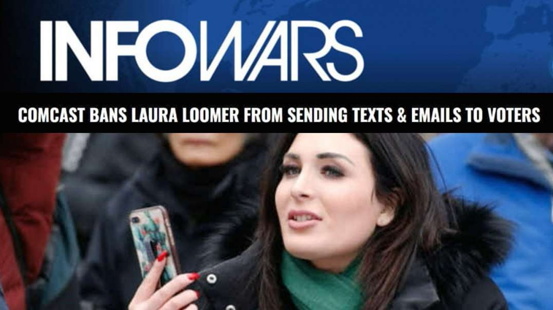 Comcast Blocks Laura Loomer's Campaign, Donates to Her Opponent