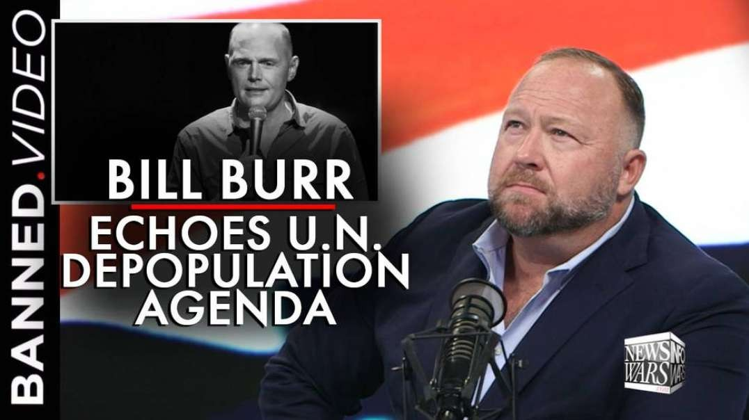 Bill Burr's Netflix Special Pushes 85% Human Extermination Plan