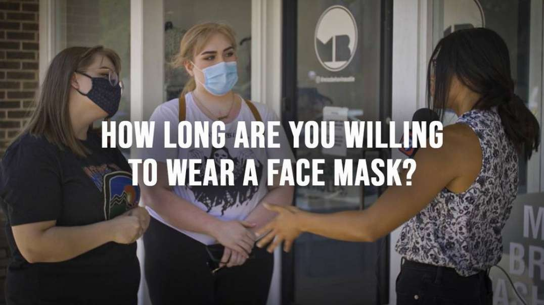 How Long Are You Willing To Wear A Face Mask?