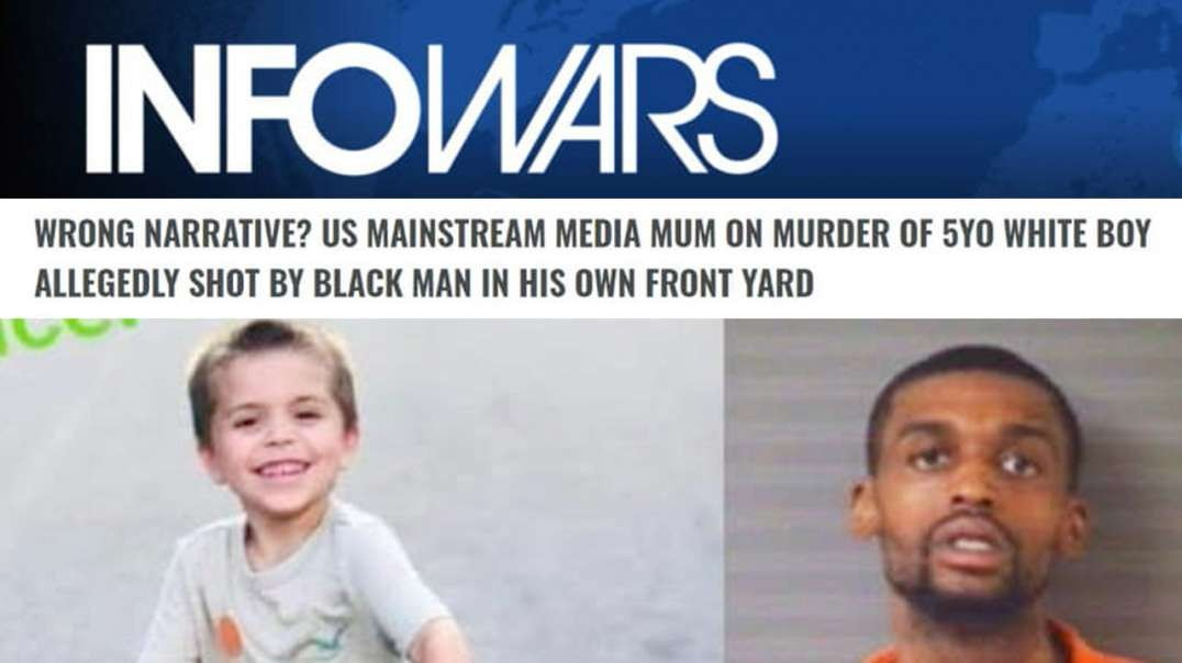 Media Silent on Black Man Who Executed White 5-Year-Old Boy