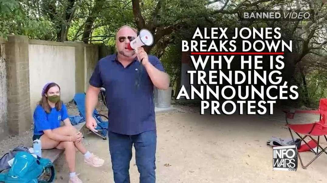 See How Twitter Framed Alex Jones for Exposing Covid-19 Park Closures
