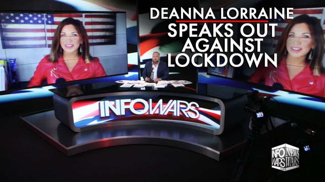 Deanna Lorraine Speaks Out Against Lockdown After Interview Cut Off in Australia