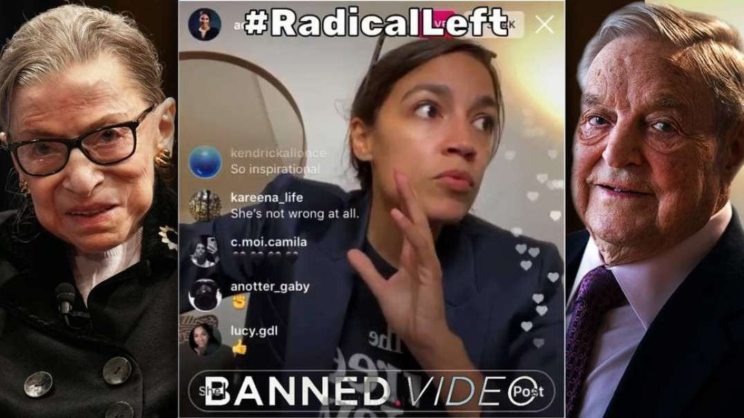 Soros Uses AOC To Push For Color Revolution In Wake Of RBG's Death
