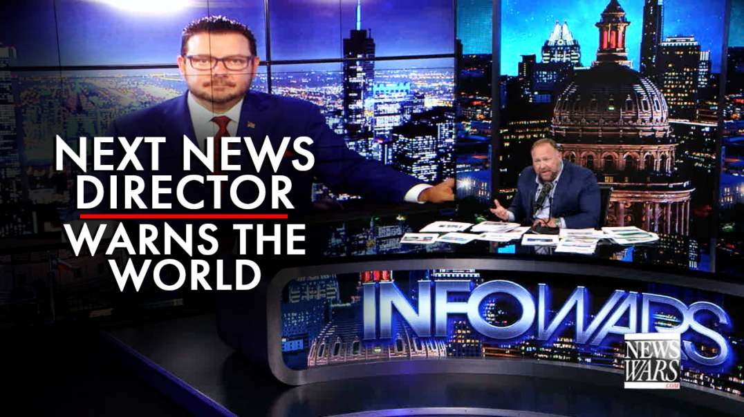 Powerful Interview: Next News Director Warns the World