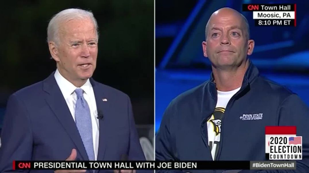 Biden and CNN Continue Pushing COVID Lockdown at Latest Town Hall Drive In