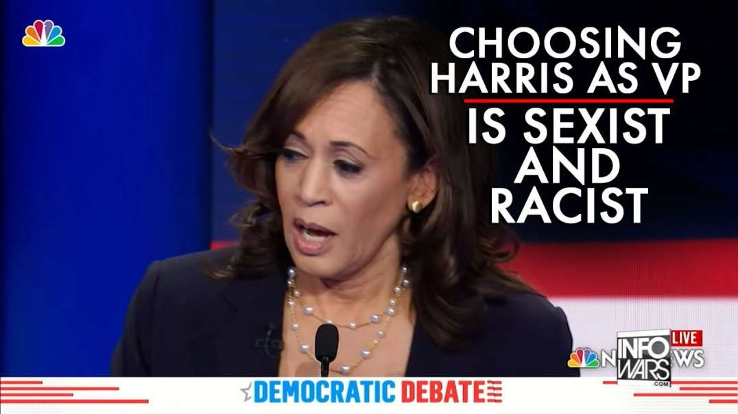 Choosing Kamala Harris As VP, Sexist And Racist