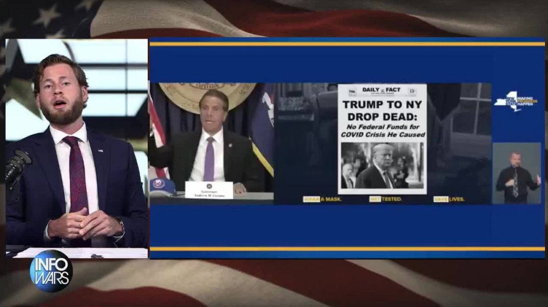 GOV CUOMO BLAMES TRUMP FOR COVID AFTER PRAISING HIS RESPONSE