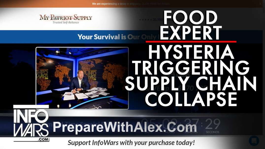 Food Expert Warns Covid-19 Hysteria Triggering Supply Chain Collapse/Starvation