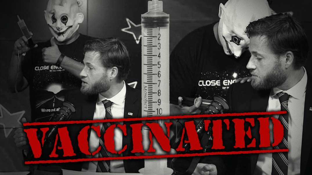 Infowars Host Gets Covid-19 Vaccine Live On Air!