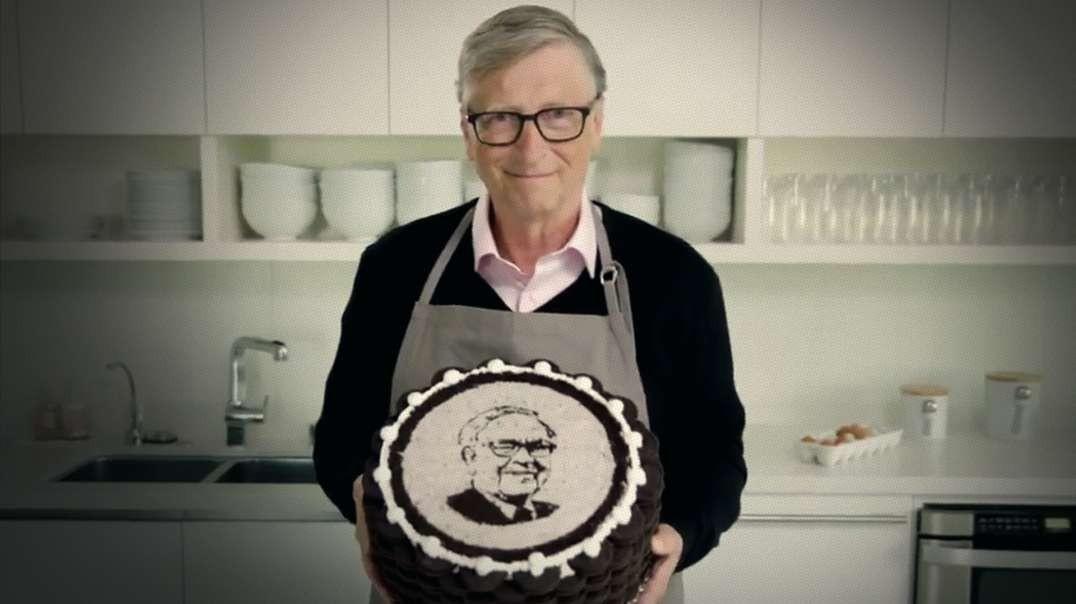 Bill Gates Bakes A Cake For Warren Buffett's Birthday