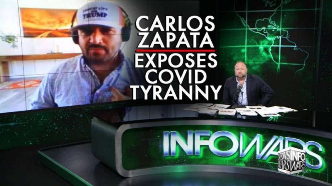 Veteran Carlos Zapata Returns to Expose Covid Tyranny