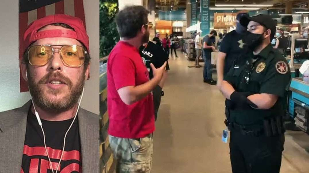 Man Confronts Entire Grocery Store On COVID Hoax And Illegal Mask Mandate