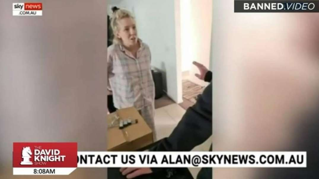 Horrifying Video Shows Pregnant Mother Arrested For Facebook Post