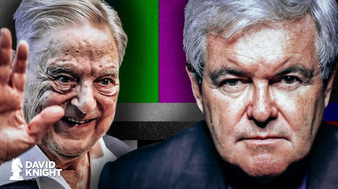 What the Faulkner?! Gingrich Cut-Off by FOX When He Tells the Truth About Soros