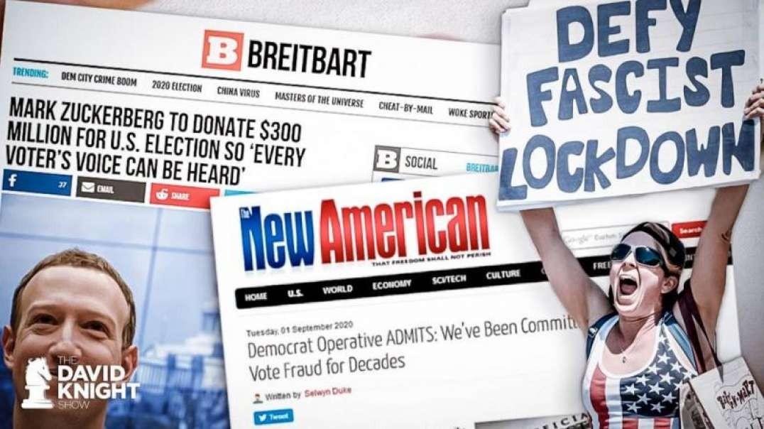 Stop Mail Voting Fraud By Ending LOCKDOWN Fraud