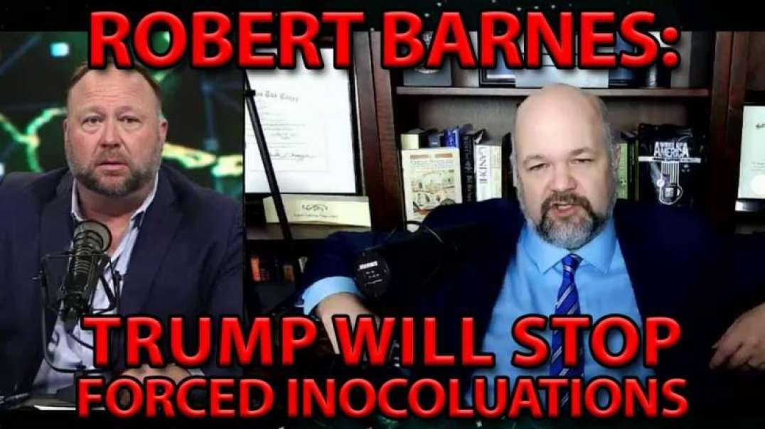CONSTITUTIONAL EXPERT WARNS: THE ONLY THING STOPPING FORCED INNOCULATION IS TRUMP