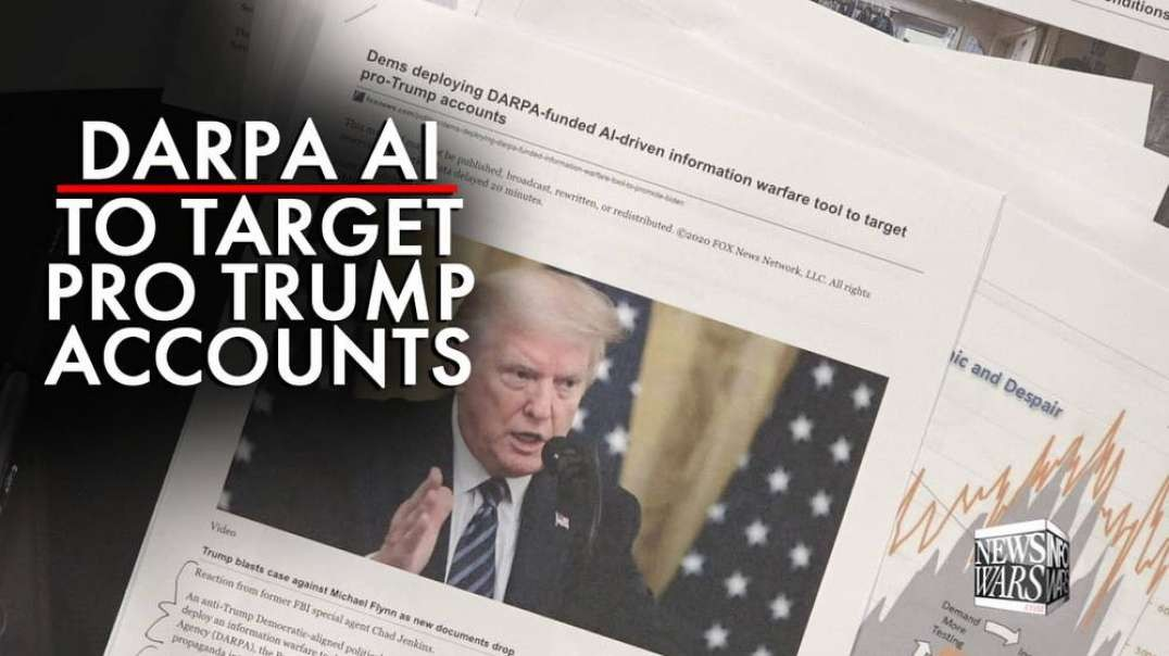 Darpa AI Turned Loose to Target Pro-Trump Accounts
