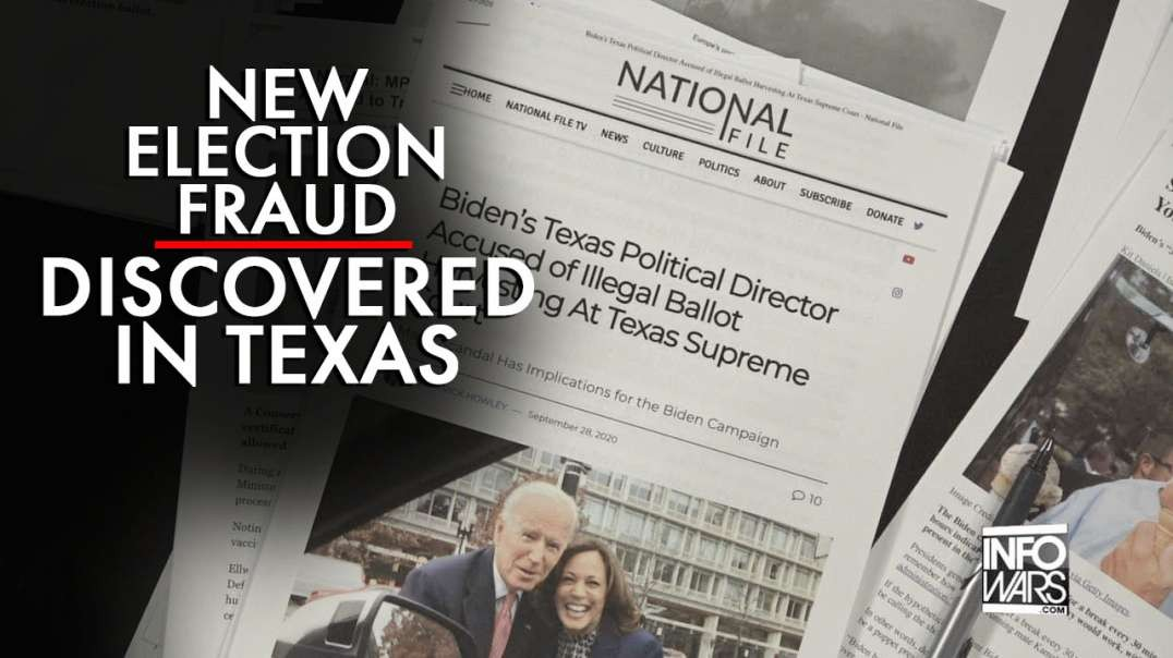 Exclusive: New Election Fraud Discovered In Texas