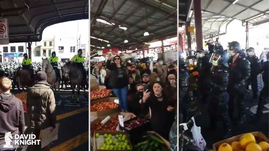 Farmer's Markets Attacked in Australia, Running Out of Rice / Meat