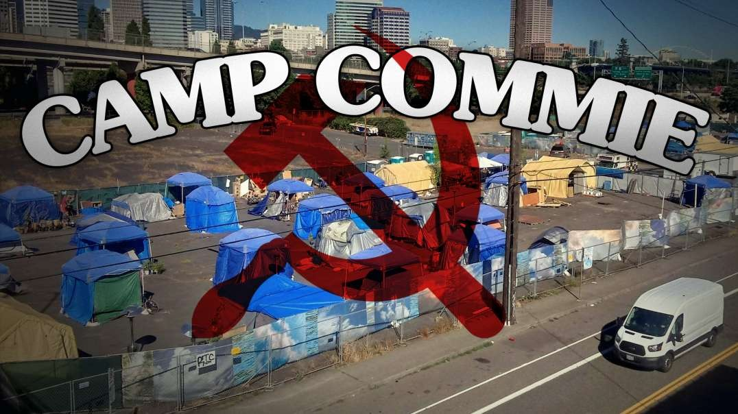 ANTIFA Battle Camp Discovered In Portland