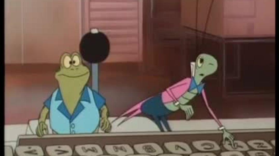 Tecknat Barn Svenska - Kalle Stropp och Grodan Boll på svindlande äventyr (1991) Trailer (4D)