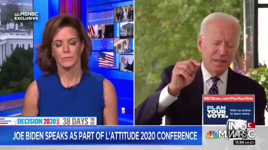 Joe Biden Forgets What He's Talking About On LIve TV
