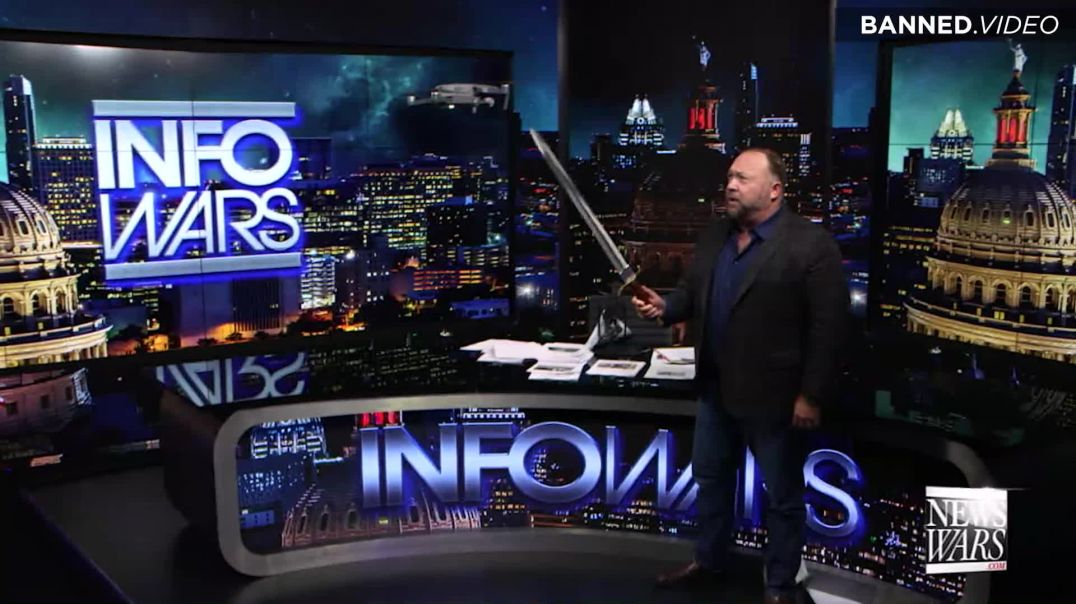 Alex Jones Kills Jeff Bezos Drone!