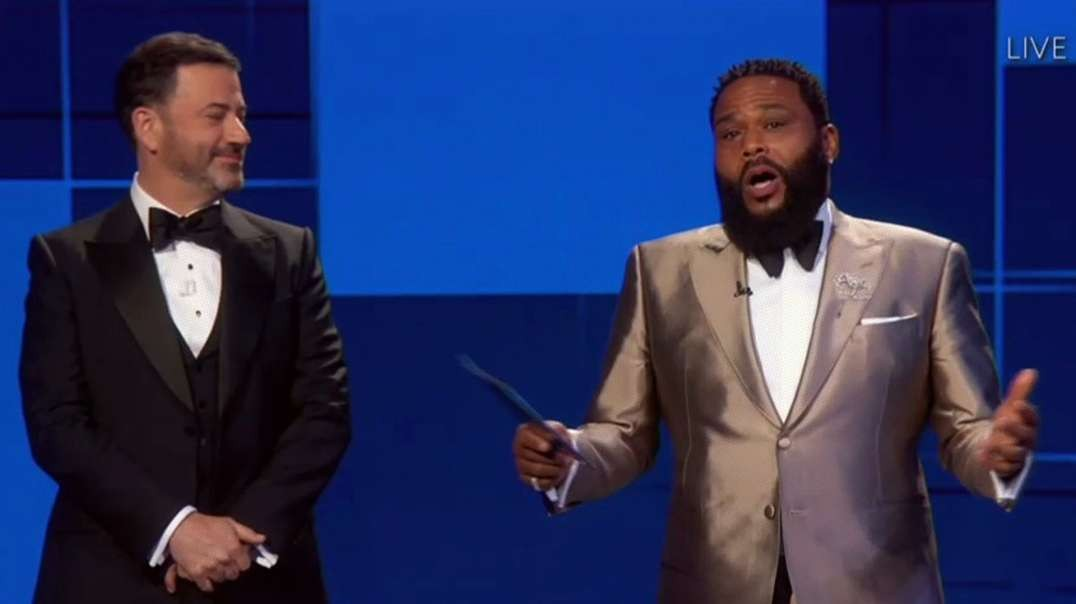 Hollywood Goes Full Racist Against White People At The Emmys
