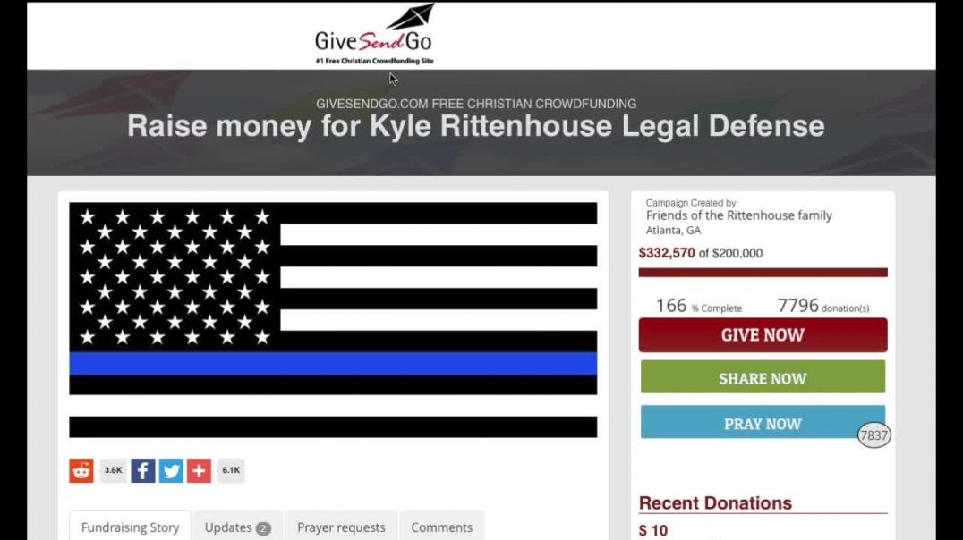 Facebook Blocks Donations To Kyle!