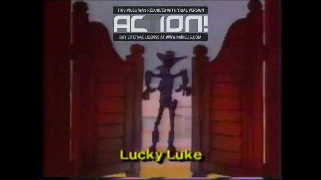 Lucky Luke (1990) VHSRIPPEN (Svenska) Trailer