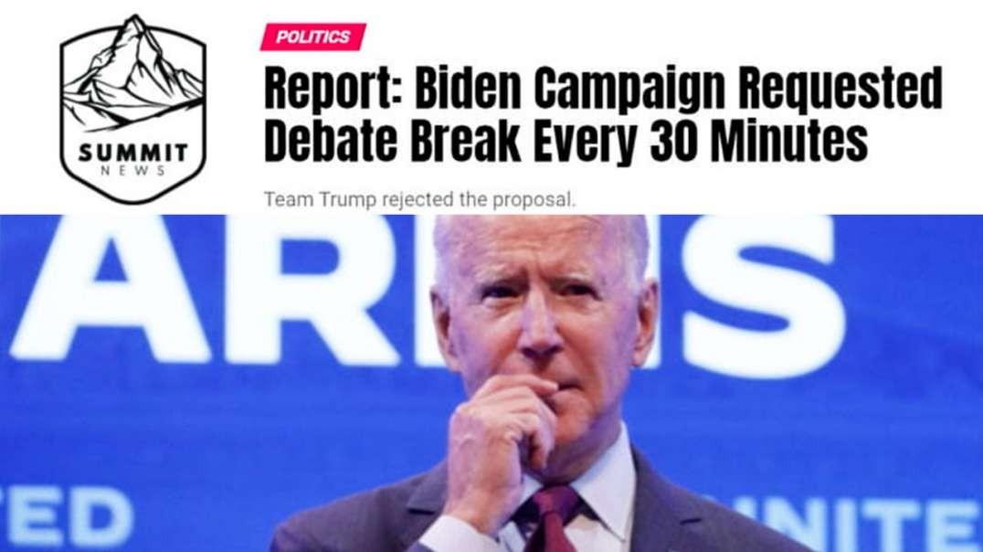 Will Biden Make It Through The Debate?