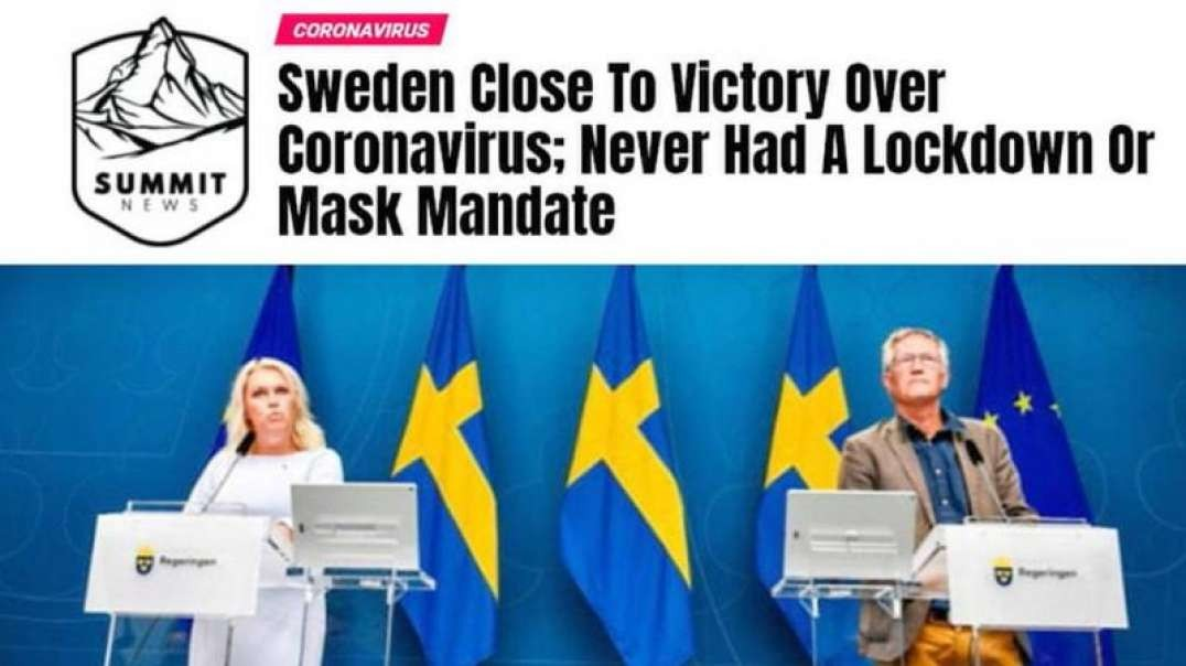 Anti-Lockdown Sweden Now The Safest Country In Europe