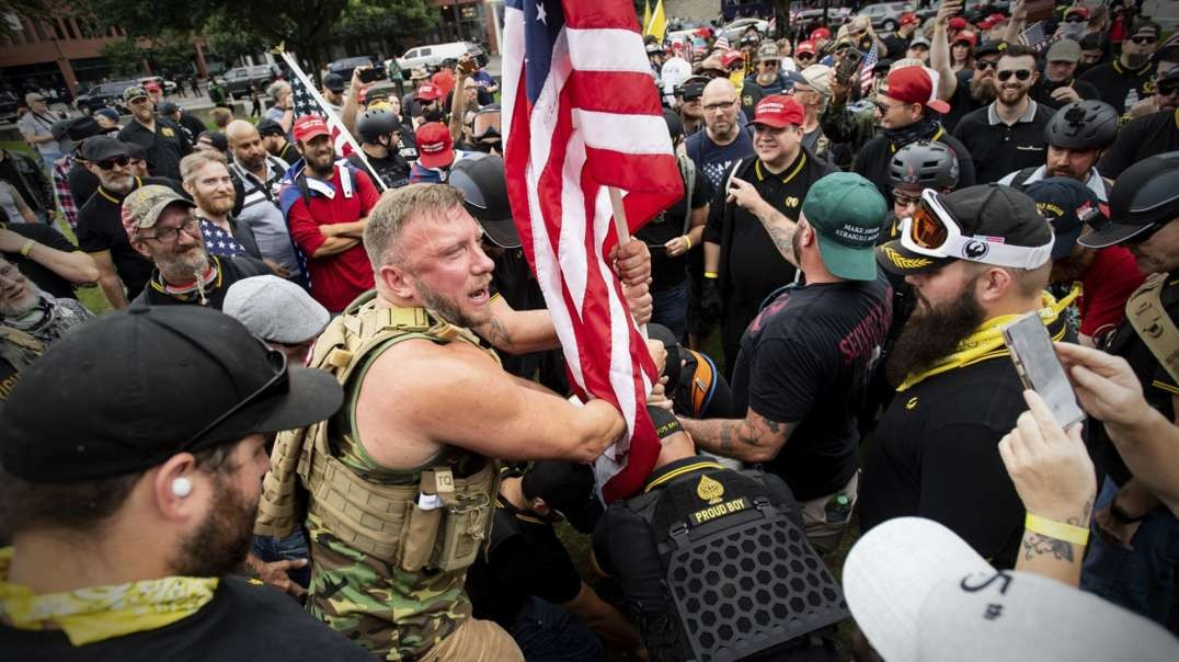 HIGHLIGHTS - Will There Be A Patriot Vs Antifa Showdown?