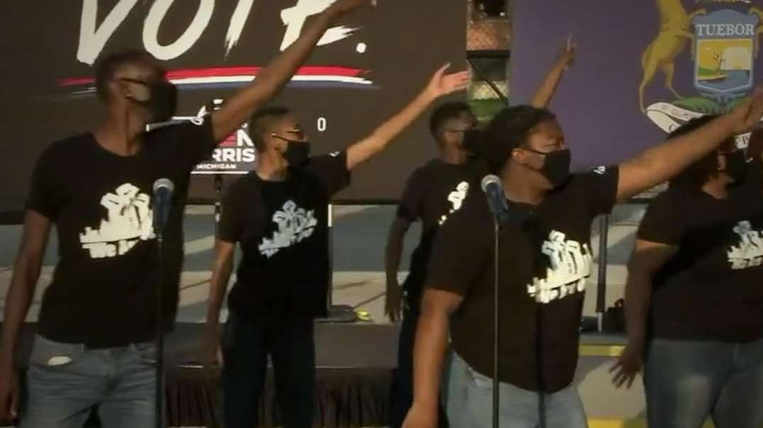 Racist Democrats Make BLM Dance For Biden