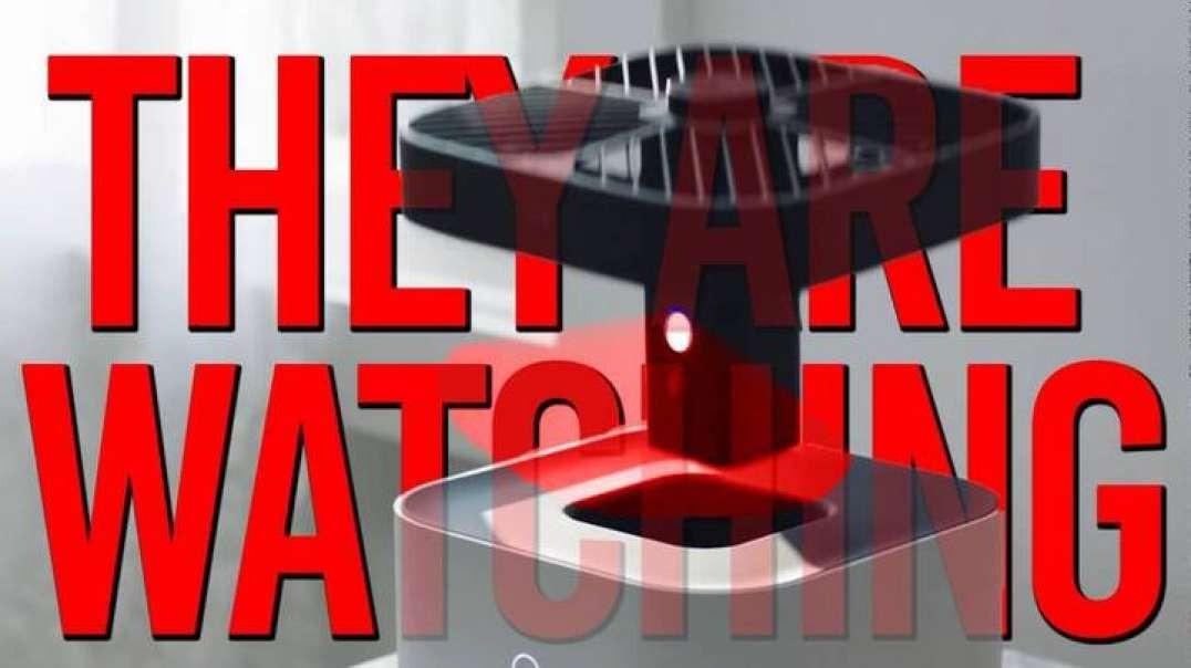 Amazon Launches Surveillance Drones Inside Your House