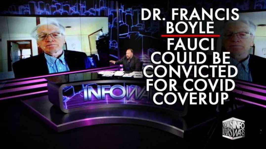 Dr. Francis Boyle, the Man Who First Exposed Covid-19 as Lab-Made Drops New Bombshells