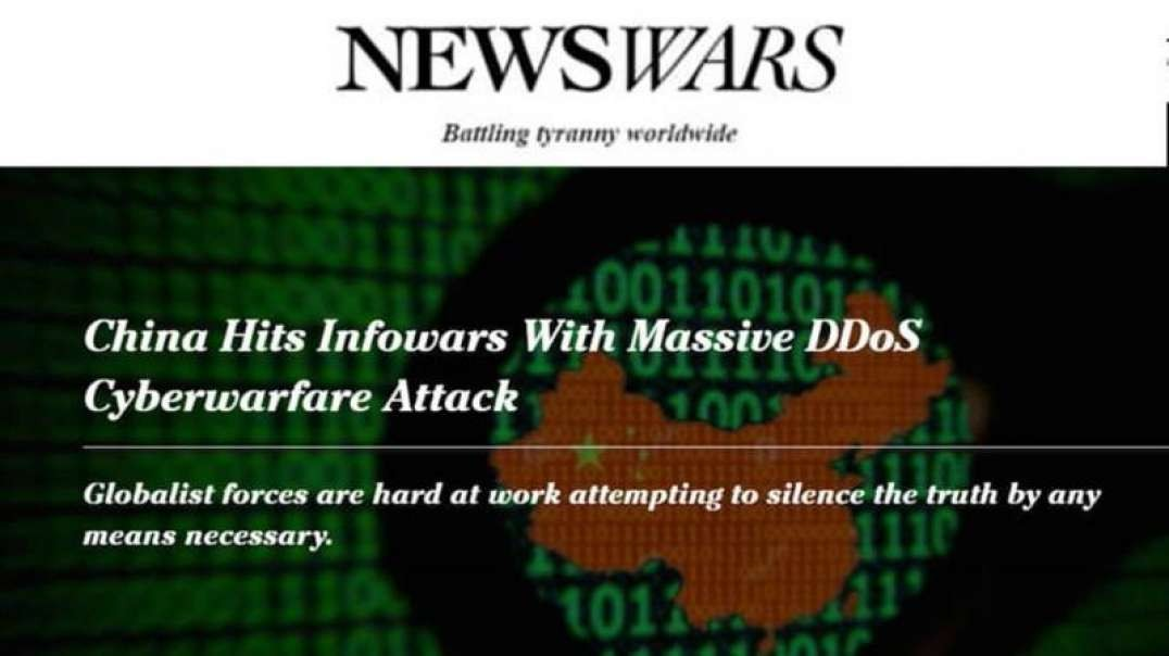 Infowars is Under Hack Attack for Exposing ChiCom Coup Plot Against Trump