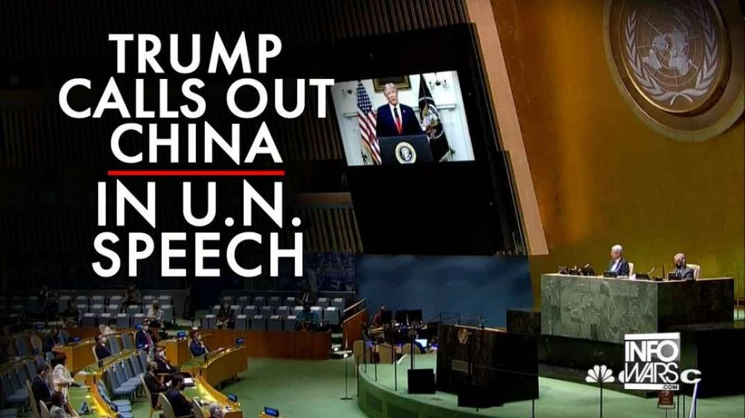 Trump Calls to Hold China Accountable at Historic U.N. Speech