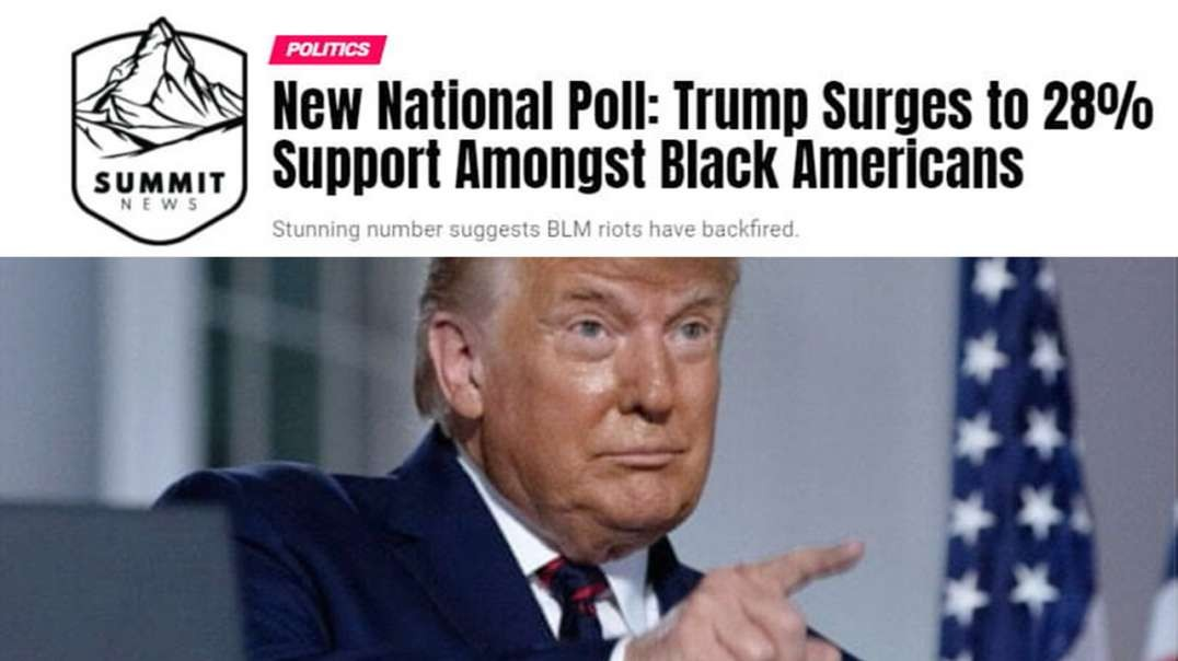 Support For Trump From Black Voters Surges To 28%