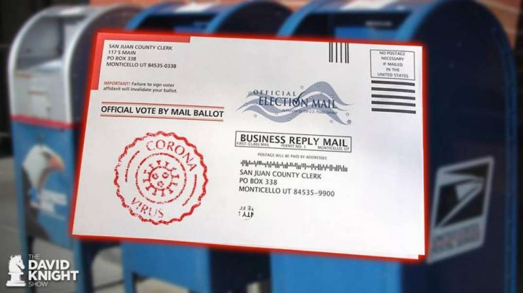 COVID Fraud Will Be the ROOT of Election Mail Fraud