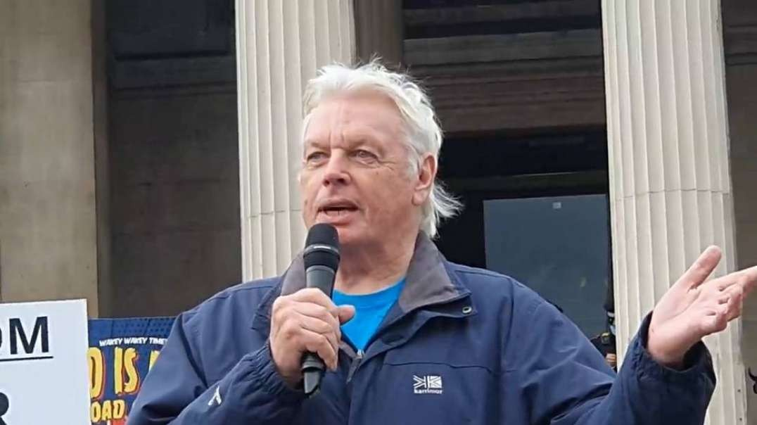 We Can Not Fail! David Icke Trafalgar Square | September 26, 2020