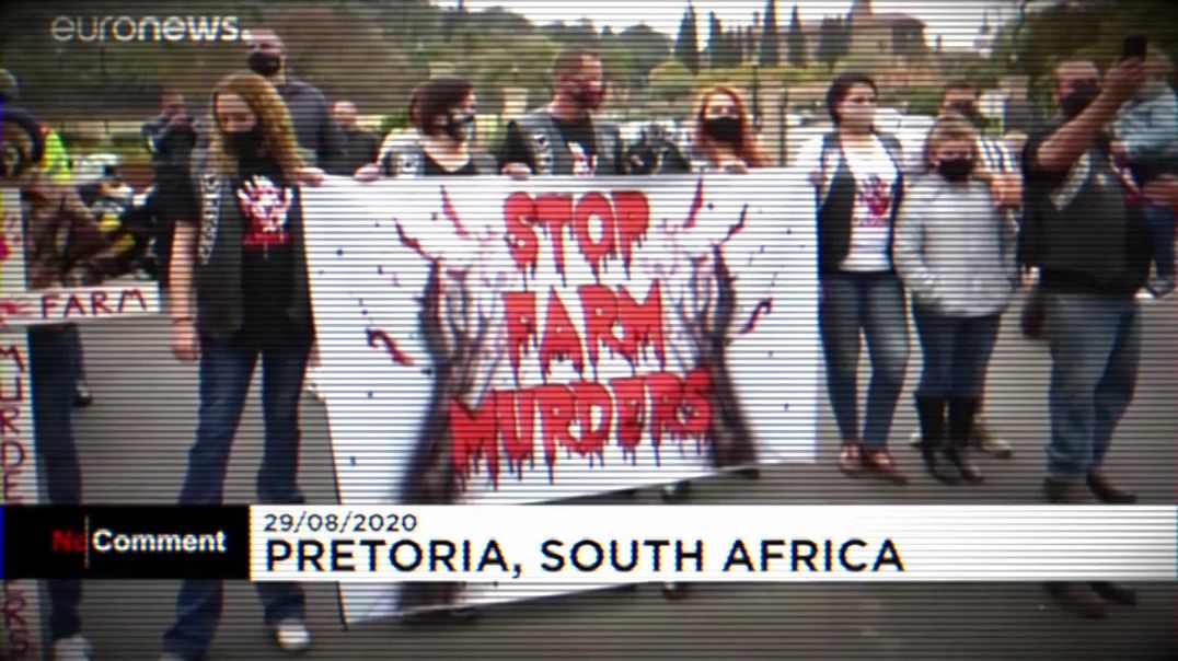 SOUTH AFRICAN FARMER MURDERED AND TIED TO POLE LEADS TO MASSIVE PROTEST