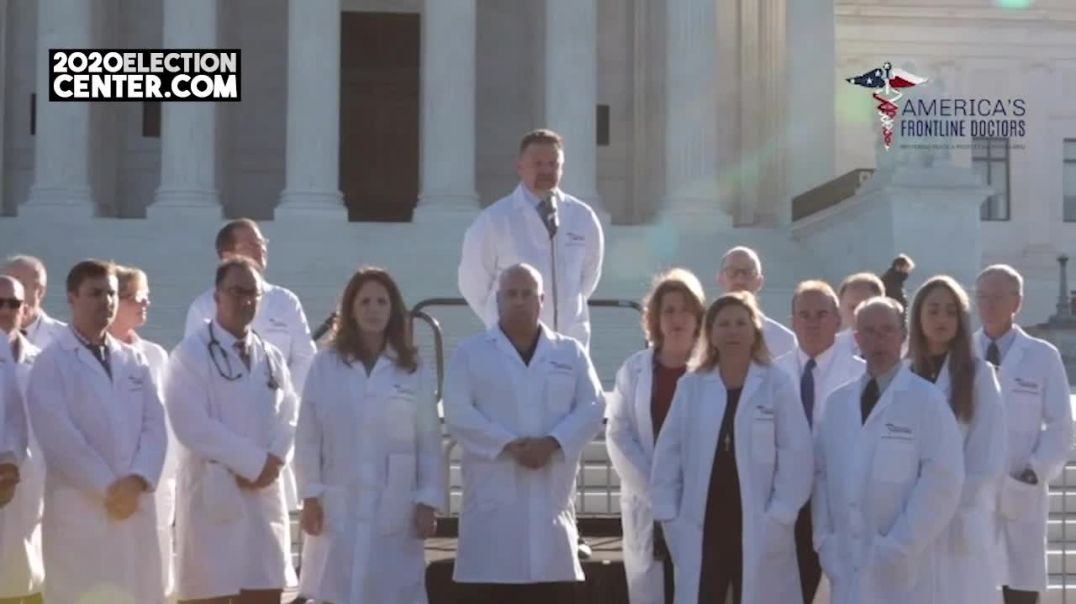 Banned from YouTube America's Frontline Doctors Hold 2nd Summit in DC