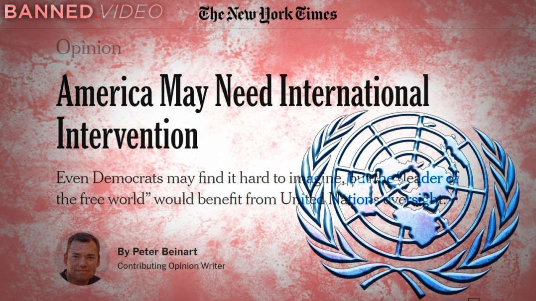 Mainstream Media Openly Announces UN Takeover of US Elections