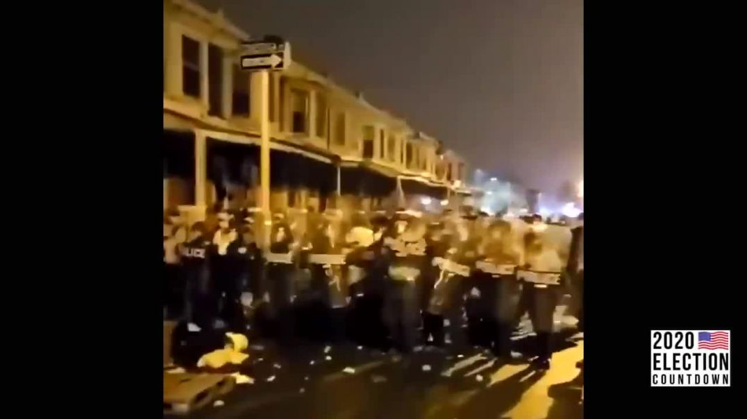 Philly Is BURNING: Riots, Cop Cars Burning, & Looting; National Guard Called In