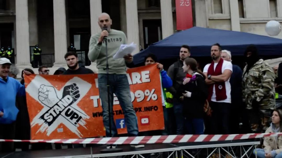 GARETH ICKE SPEECH AT SAVE OUR RIGHTS - TRAFALGAR SQUARE - 26TH SEPTEMBER 2020
