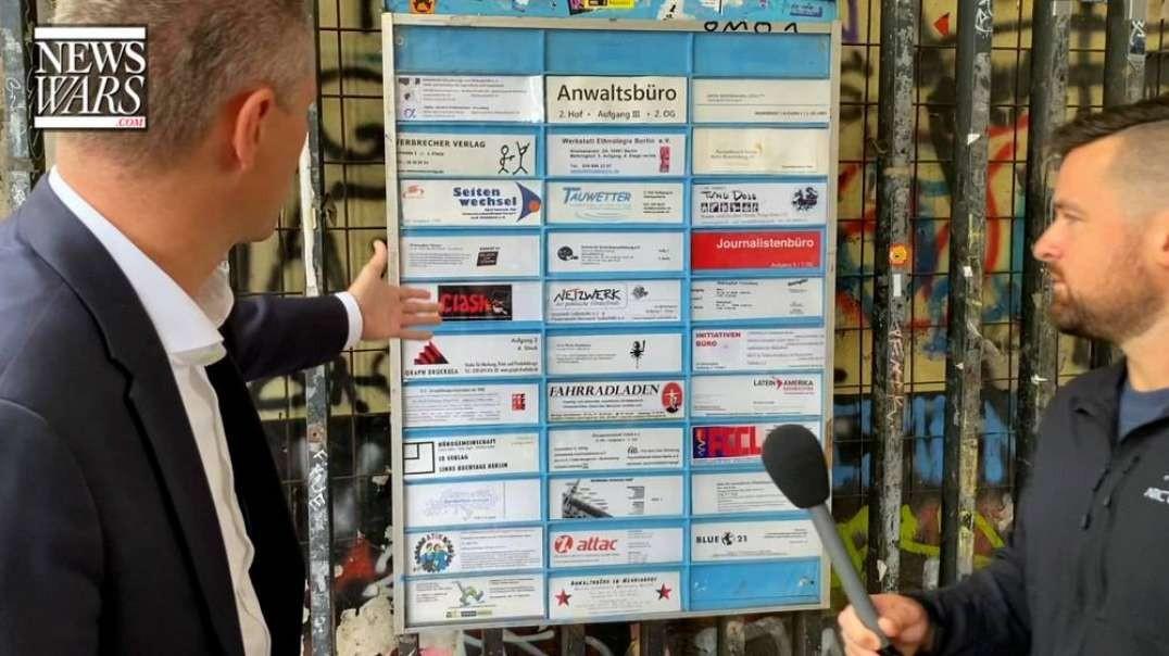 Infowars Europe Visits Berlin Headquarters Of NGO
