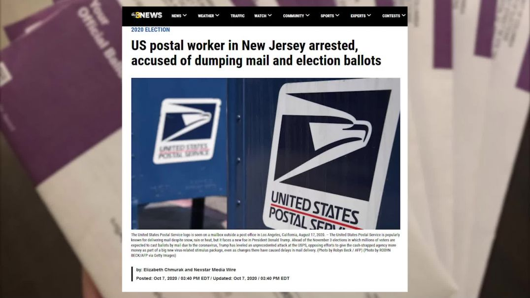 Mail-in Voting Is Perfectly Safe And There Is No Fraud